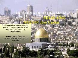HISTORIA DE ISRAEL Y DEL PUEBLO JUDÍO