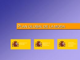 PLAN GLOBAL DE LA MODA