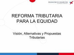 Vea la exposición del senador Francisco Chahuán