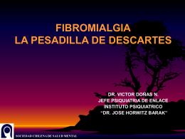 FIBROMIALGIA LA PESADILLA DE DESCARTES