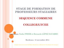 micro tâche - Sites disciplinaires de l`Académie de Bordeaux