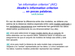 """an information criterion"" (AIC) Akaike`s information criterion … en"