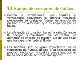 transporte de fluidos