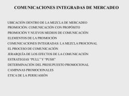 comunicaciones integradas presentacion