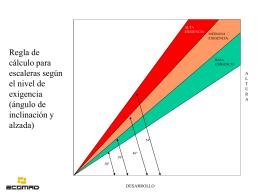 BASES PARA LA FABRICACION DE ESCALERAS FIJAS