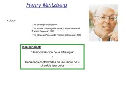 Henry Mintzberg (nació en 2 de septiembre, de 1939)