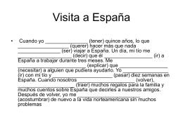 Visita a España