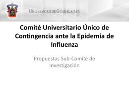 Subcomité Investigacion Comite Universitario Influenza