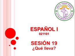 ¿Cómo es? - CMU Español