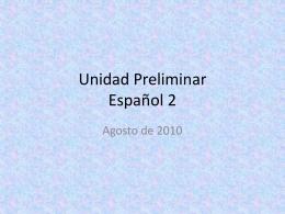 File - La clase de español