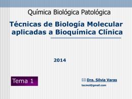 Genoma Humano - Blog de Química Biológica Patológica