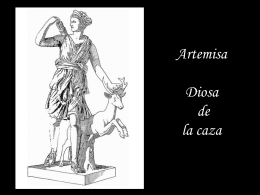 Ártemis Diosa de la Caza