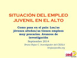 EMPLEO JUVENIL EL ALTO 30 07 2014