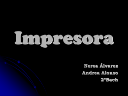 Impresora - WordPress.com