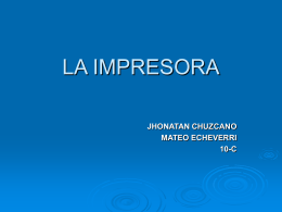 LA IMPRESORA - logodeafiches1