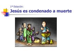 Jesús es condenado a muerte