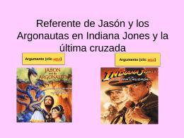 Referente de Jasón y los Argonautas en Indiana Jones y la última