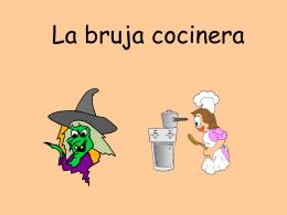 La bruja cocinera