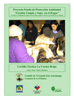 Cocinas Brujas - BioEnergy Discussion Lists