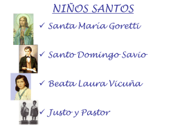 NIÑOS SANTOS - colaboradores.org