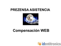 PREZENSA COMPENSACION WEB