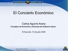concierto económico