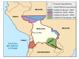 PERDIDAS TERRITORIALES Y RECURSOS NATURALES