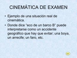 Problema Cinemática 2