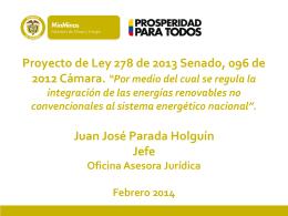 Juan José Parada - Universidad Externado de Colombia