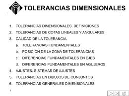 Tolerancia dimensional