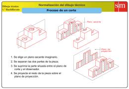 CORTES Y SECCIONES (presentación