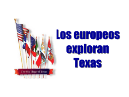 Europeans Explore Texas