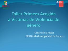 Taller Primera Acogida Víctimas de Violencia