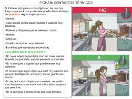 Ficha 9 - Contactos térmicos