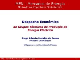 Despacho Económico