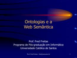 Slides completos de Fred sobre Ontologia