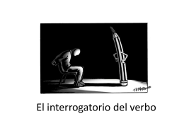 El interrogatorio del verbo