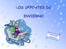 Los Deportes de Invierno ppt