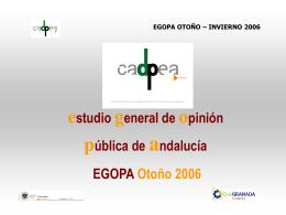 Presentación EGOPA Otoño-Invierno 2006.
