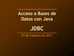 JDBC-tr