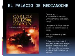 El Palacio de Medianoche - PLAN LECTOR IES MURIEDAS