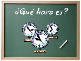 Qué hora es?