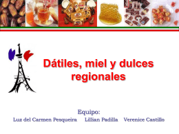 Dulces Regionales