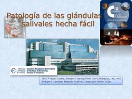 Patología de las glándulas salivales hecha fácil