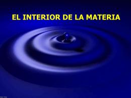 ¿De qué está hecha la materia? (El átomo)