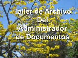 Presentación 3: Orientación Requerimiento Elaboración del Inventario