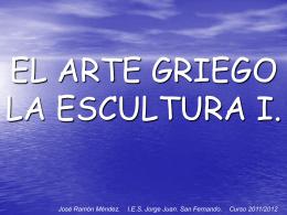 Arte griego. Escultura I  - IES JORGE JUAN / San Fernando
