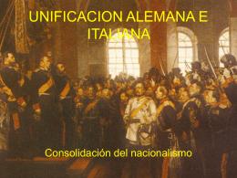 10.- unificacion alemana e italiana