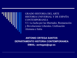UNIFICACION ITALIA Y ALEMANIA