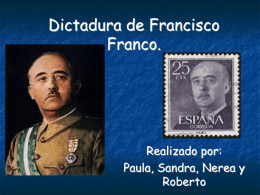 Dictadura de Francisco Franco